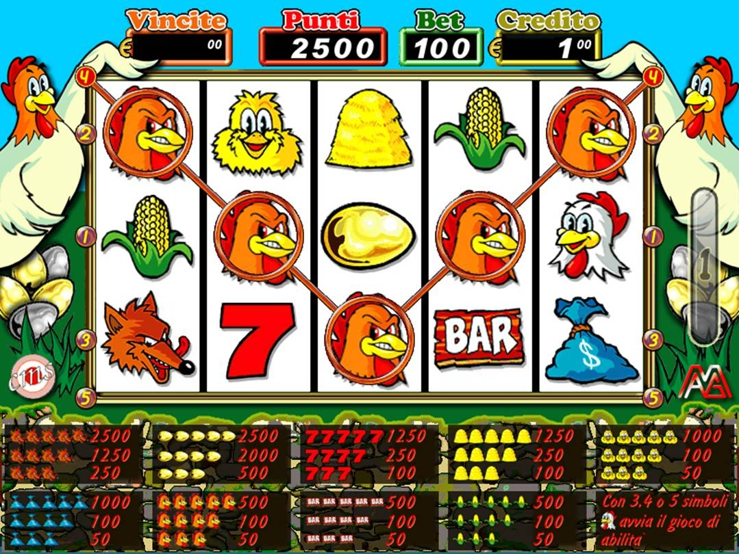 slot machine gratis gallina online