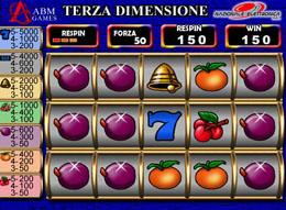 Slot Machine Terza Dimensione
