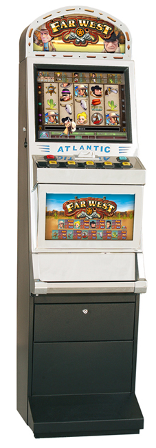 Slot machine far west